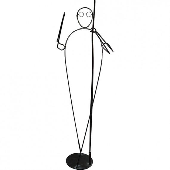 Mahatma in piedi